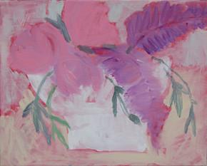 fleurs pivoines et lilas - 2973