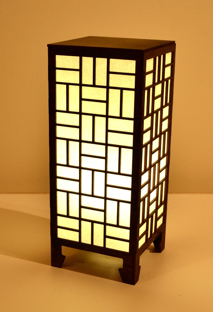 Laser Cut Lamp (large)