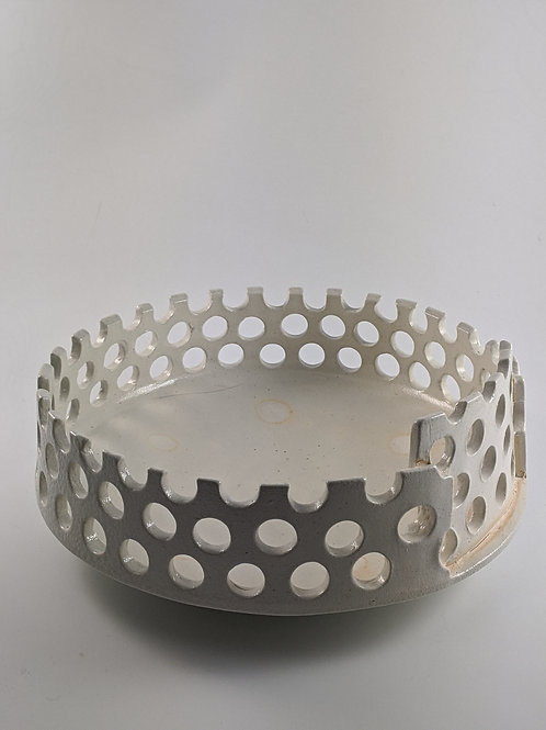 Pierced Fruit Bowl
