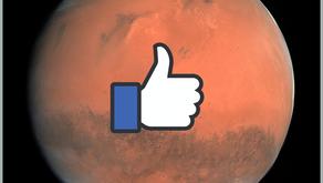 Facebook plant sociale netwerksite op Mars