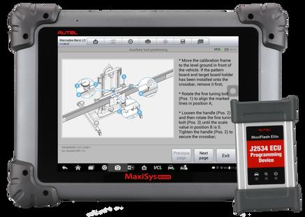 Autel-MaxiSys-ms908s-pro-diagnostic-system-MS908SP_ADAS_screen