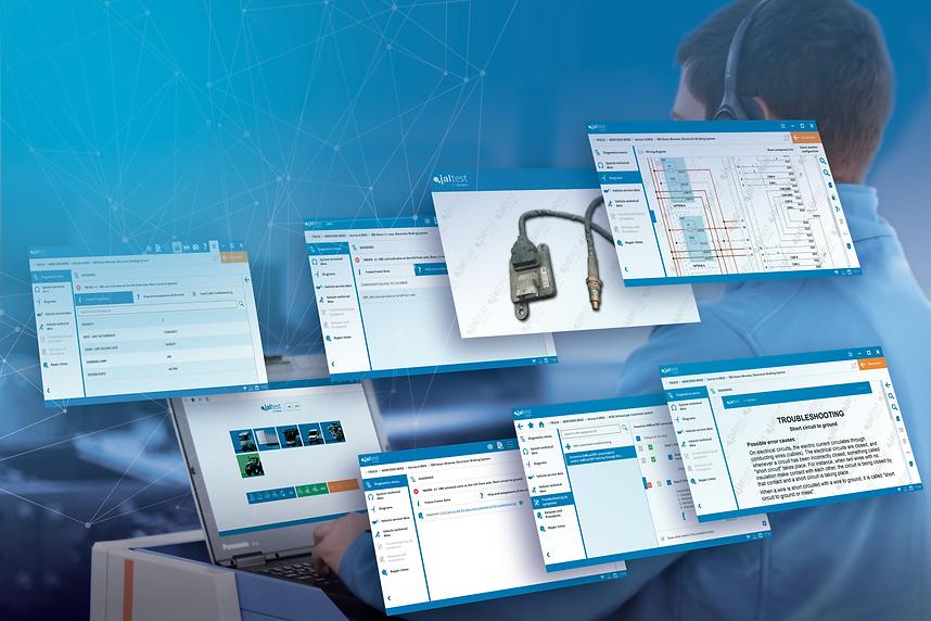 Jaltest diagnose systemen Software CV