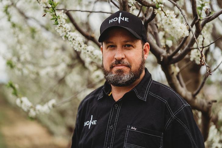 Hone Sharpening Owner Justin Nemeth