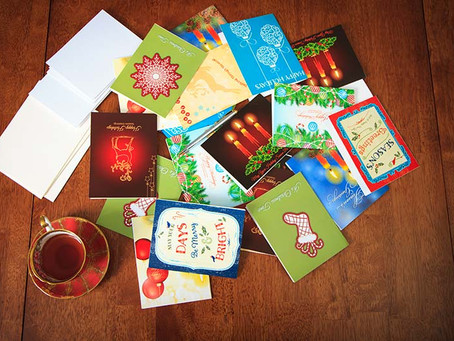 Writing with Wesley: Holiday Card Etiquette