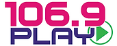 106.9 FM Play Logo