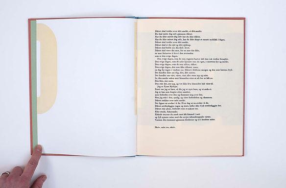 VIBEKE ORourke & Ulf Nilsen Typografi litografi