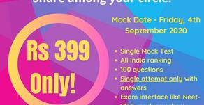 Neet ss mock exam