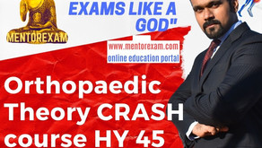 How to prepare for DNB MS Orthopaedics theory exam - Crash Course!