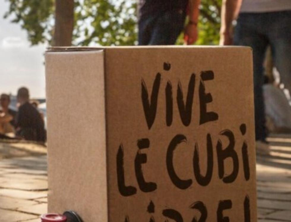 Offre 2 Cubi 5L La Rose Bellevue Rouge et Blanc