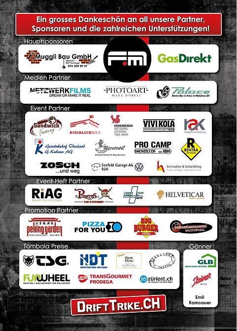 Drift Trike Days Hinwil 2020 Event Heft