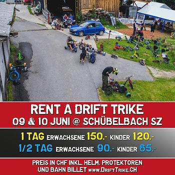 Rent a Tike Quadrat 09 & 10 Juni 18 Schü