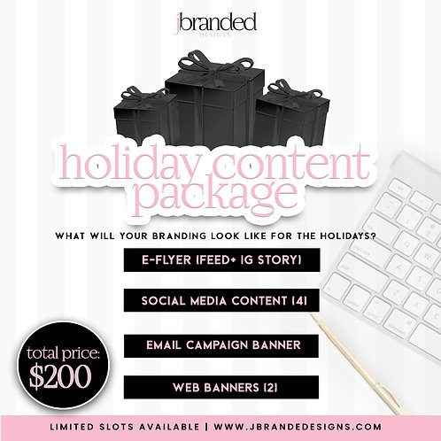 Holiday Content Package