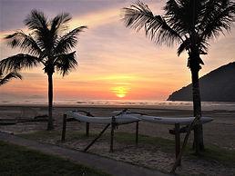 Nascer do Sol Enseada - Canto do Forte.j