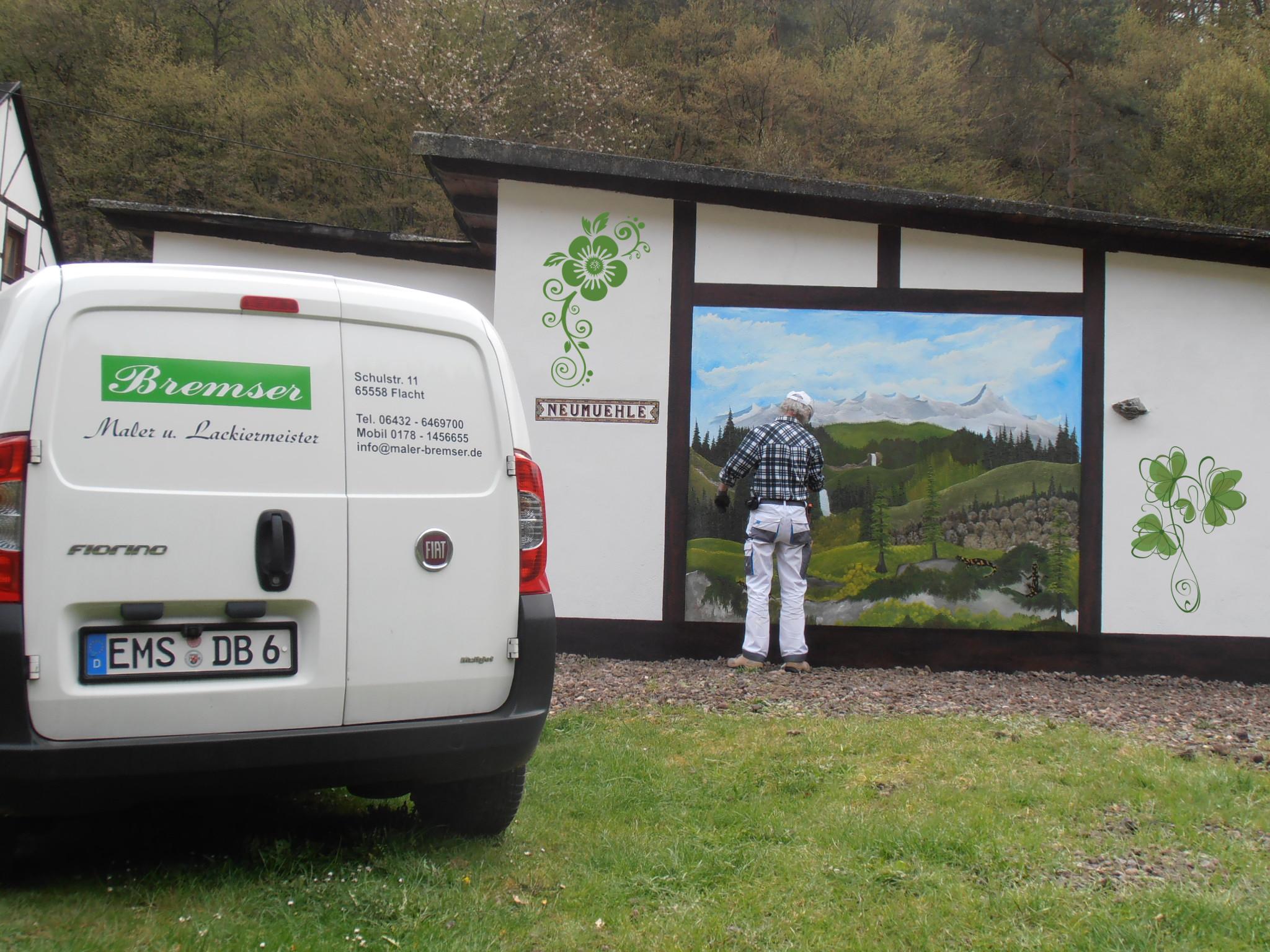 Wandmalerei Neue Mühle