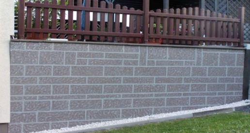 Mauer fertiggestellt