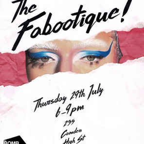 Faboo TV's Fabootique @ 'The Shop'