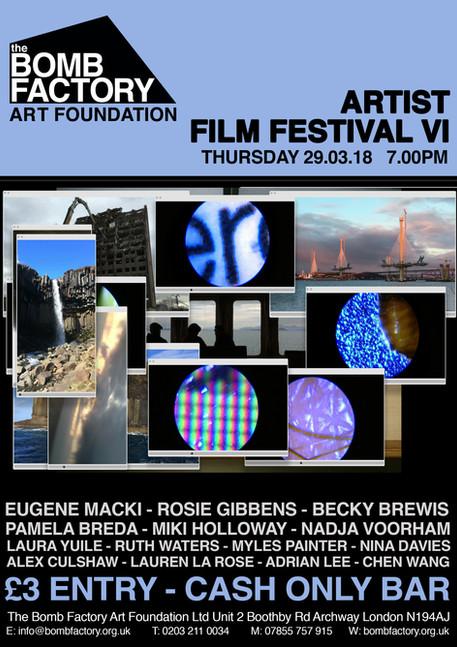 Artist Film Fest VI
