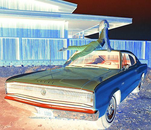 DON'T FADE NO.2, 2020, REWORKED DIGITAL IMAGE OF ALLISON PARKS 1966