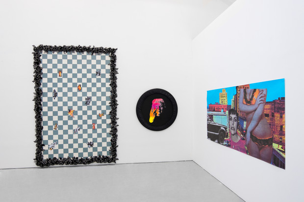 INSTALL SHOT AT BOMB, 2020, END OF RESIDENCY