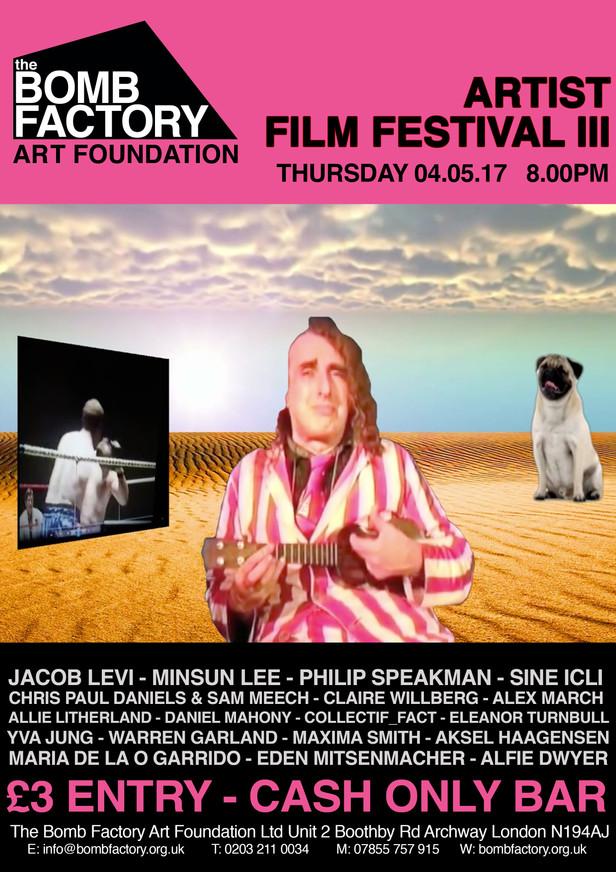 Artist Film Fest III
