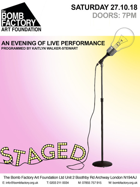 STAGED: An evening of Live Performance