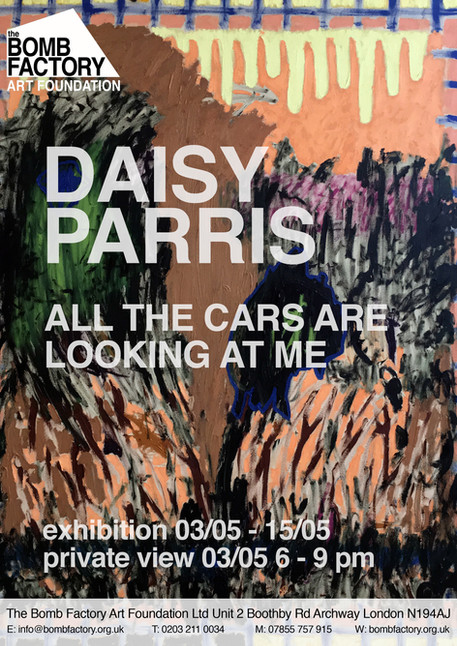 Daisy Parris, All The Cars Are Looking at Me by Daisy Parris