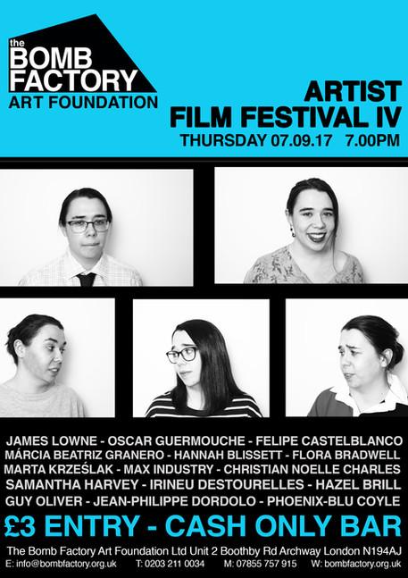 Artist Film Fest IV