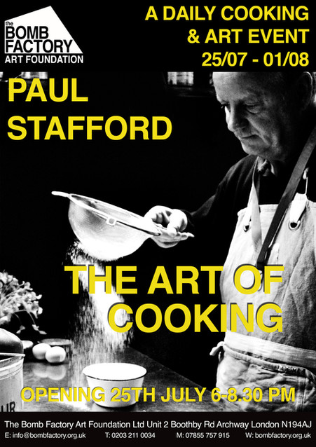 Paul Stafford - The Art Of Cooking