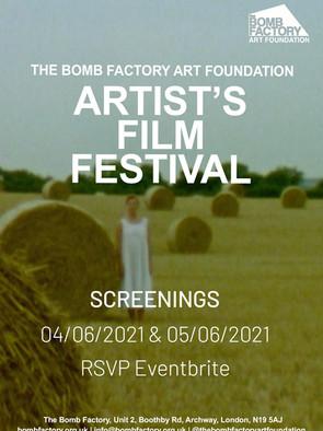 Bomb Factory Artist's Film Festival