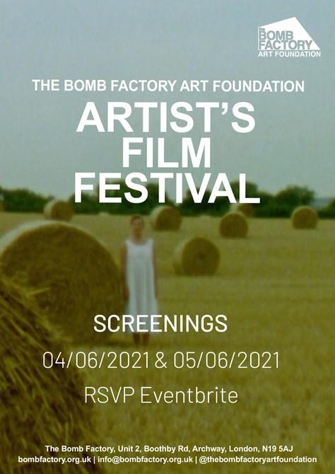 Artist's Film Festival