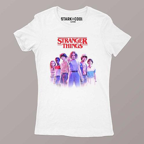 Playera Stranger Things Team Eleven para Mujer