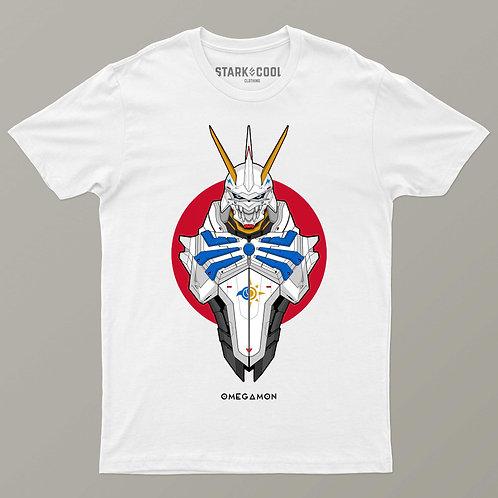 Playera Digimon Omegamon para Hombre