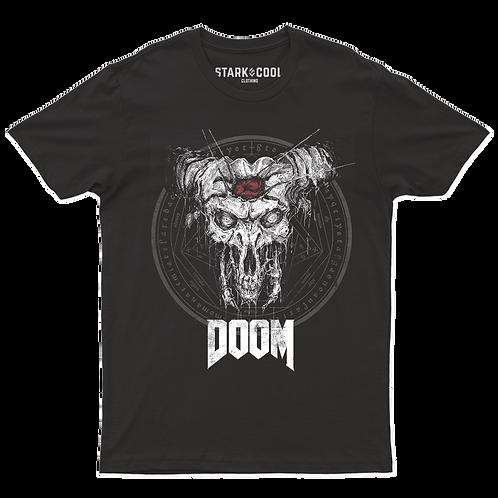 Playera Doom Eternal Icon of Sin para Hombre