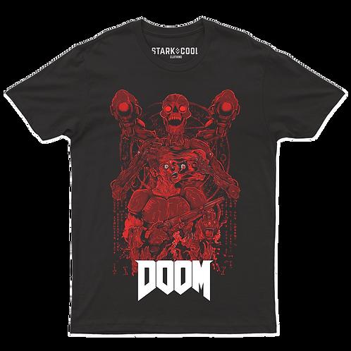 Playera Doom Eternal Doomguy Cyberdemon para Hombre