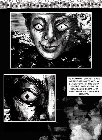 Page from a comic story due to be self-published in 2019.