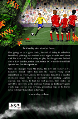 The Dream of Jack Love - Back Cover Design