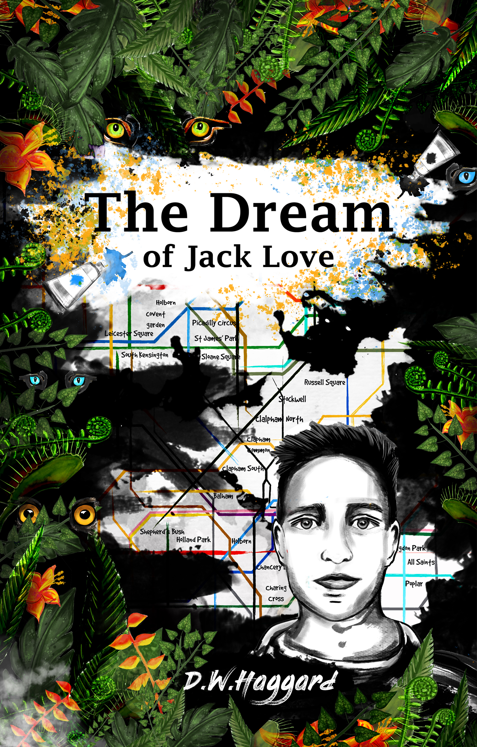The Dream of Jack Love - Book Cover Proj