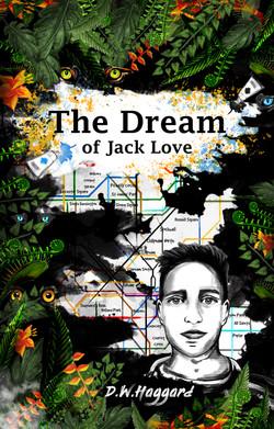 The Dream of Jack Love - Book Cover Design