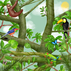 Snoff the Sloth - Children's Book Illustration