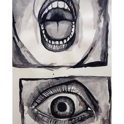 Fear drawings