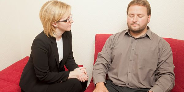 Séance d'hypnothérapie