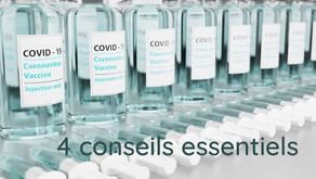 Vaccin ? 4 conseils pour diminuer ses effets secondaires et augmenter son efficacité