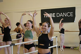 Ballet class at TRIBE: St. Pete