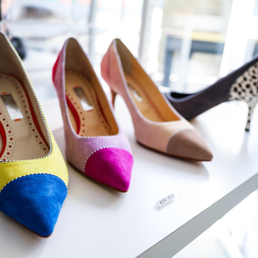 cosaema, popupstore,shoes