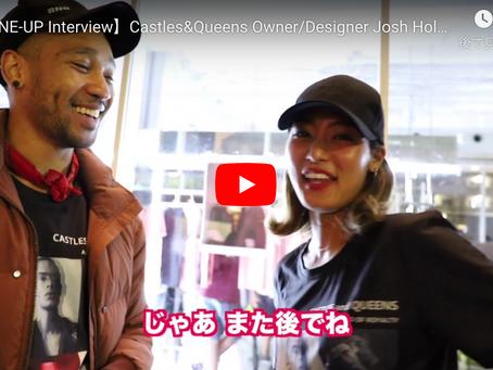 Castles&Queens Founder / Designer Josh Holm氏 インタビュー動画