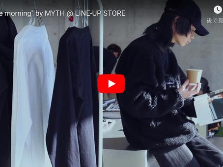 好評により第2弾!''Kai''プロデュース「MYTH」の「nice morning」イベントを開催