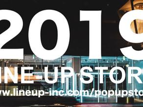 ダイジェスト動画公開!2019年のポップアップ開催ラインナップまとめ | LINE-UP STORE memories in 2019 |