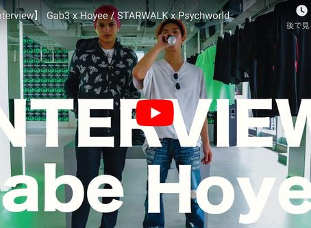 【LINE-UP Interview】 Gab3 x Hoyee // STARWALK x Psychworld OSAKA POP UP STORE