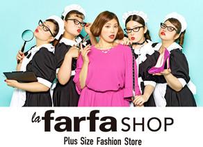 お目当てのラファモに会える?!レディースプラスサイズの期間限定「La farfa SHOP」開催!