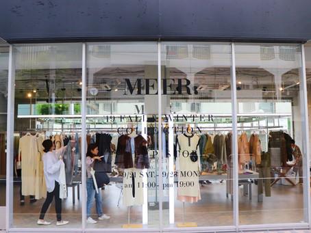 デザートとご一緒にお洋服をお楽しみ頂ける「MEER. 」POP UP STOREをLINE-UP STOREにて開催!